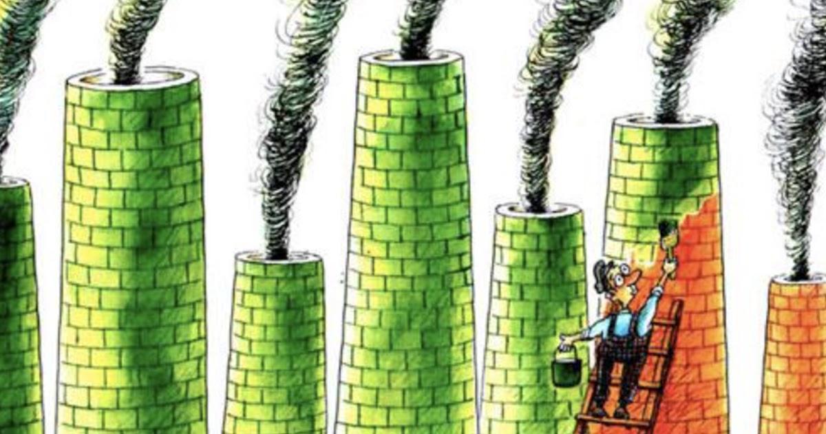 greenwashing qu'est-ce que c'est?