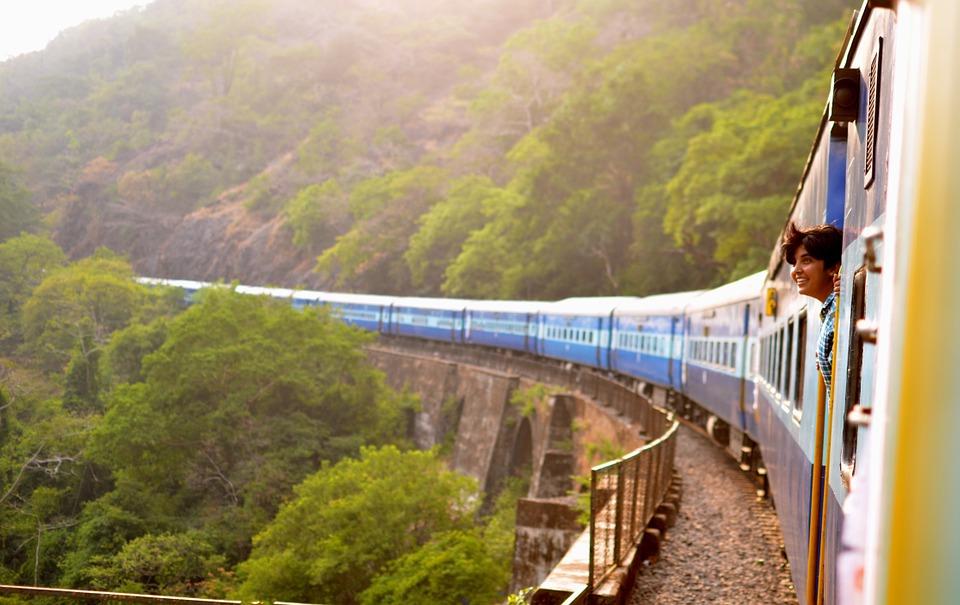 voyage éco-responsable train