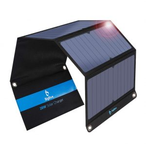 chargeur solaire 28W