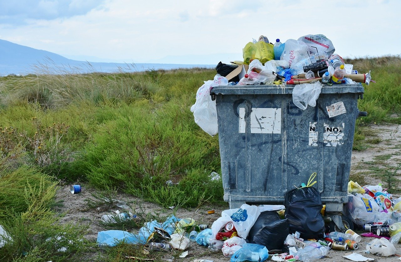 plastic waste pollution