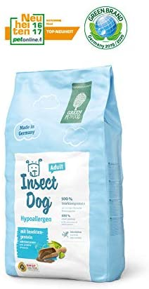 croquettes chien insectes
