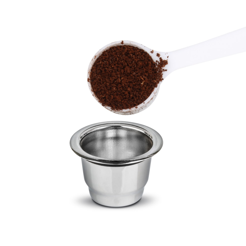 capsule nespresso réutilisable inox