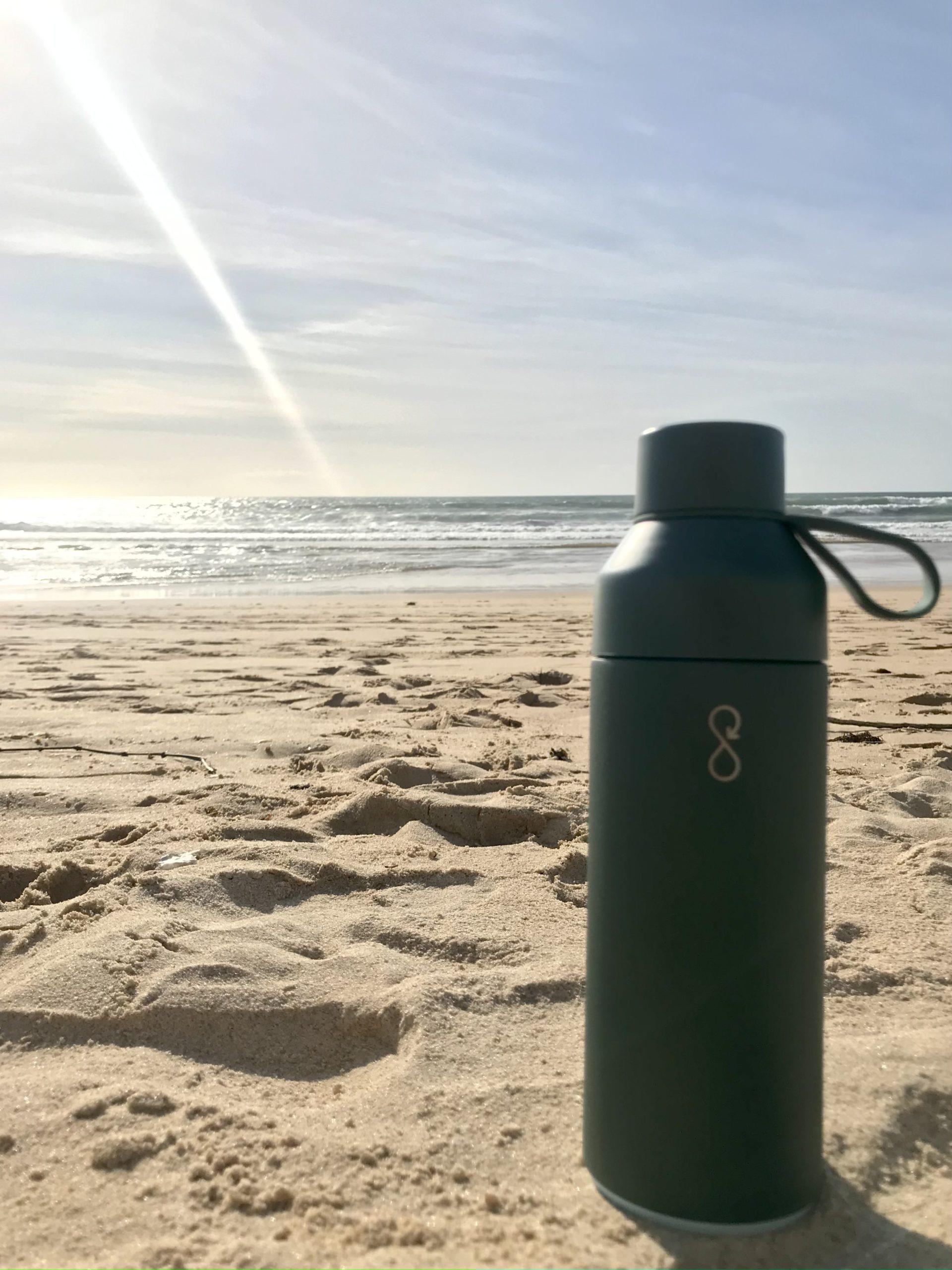 gourde isotherme plastique recyclé ocean bottle