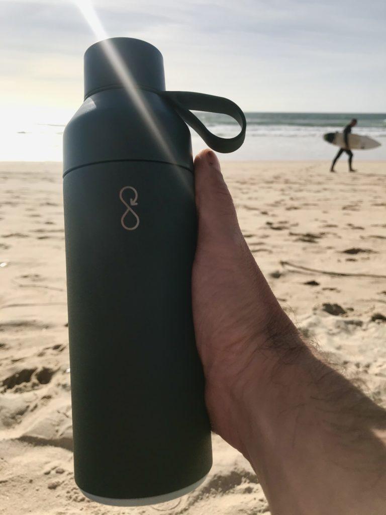 ocean bottle plage surf