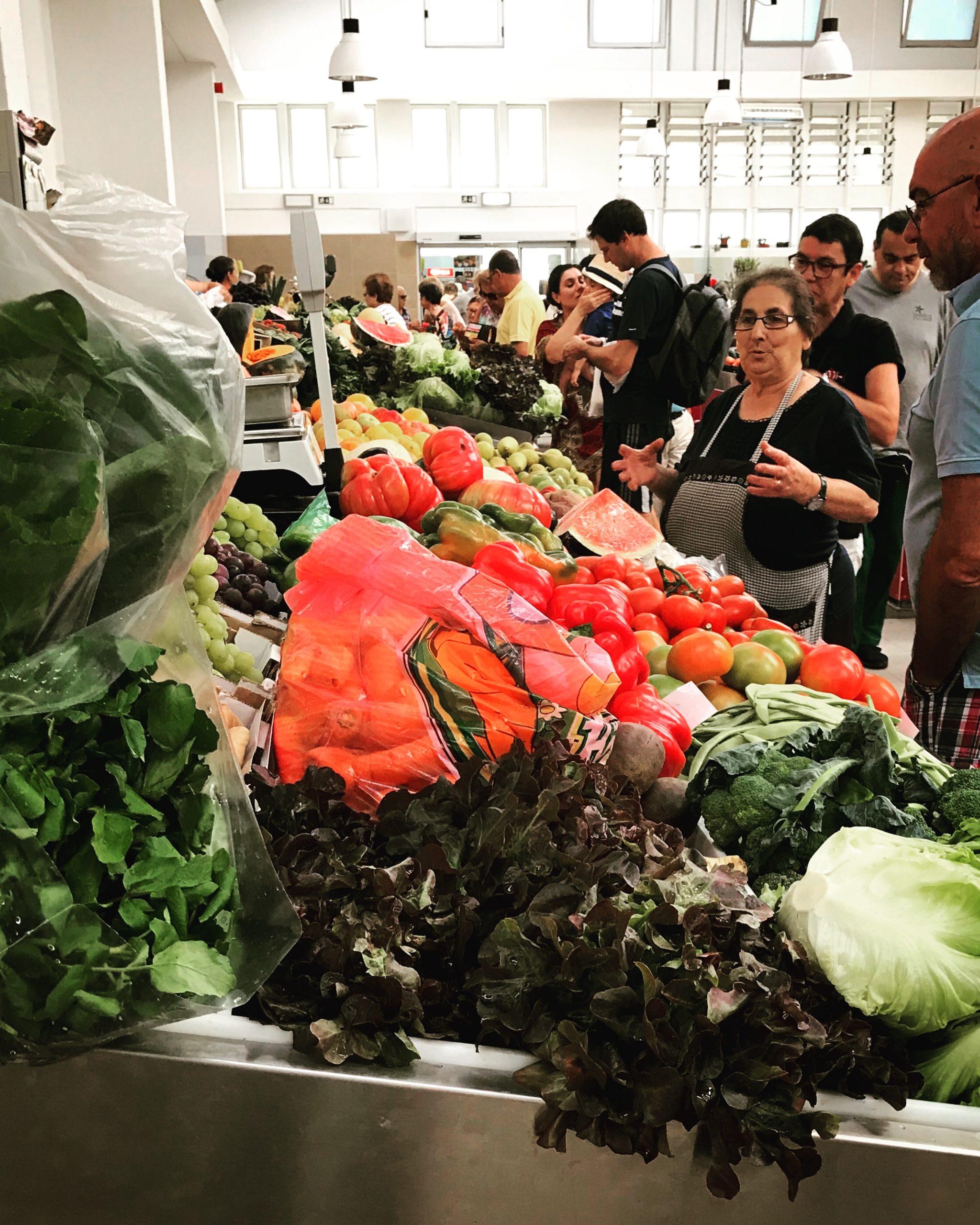 marché fruits et légumes saison