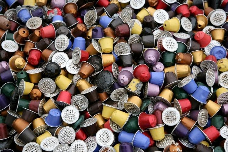déchets capsules nespresso