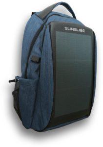 sac à dos avec panneau solaire