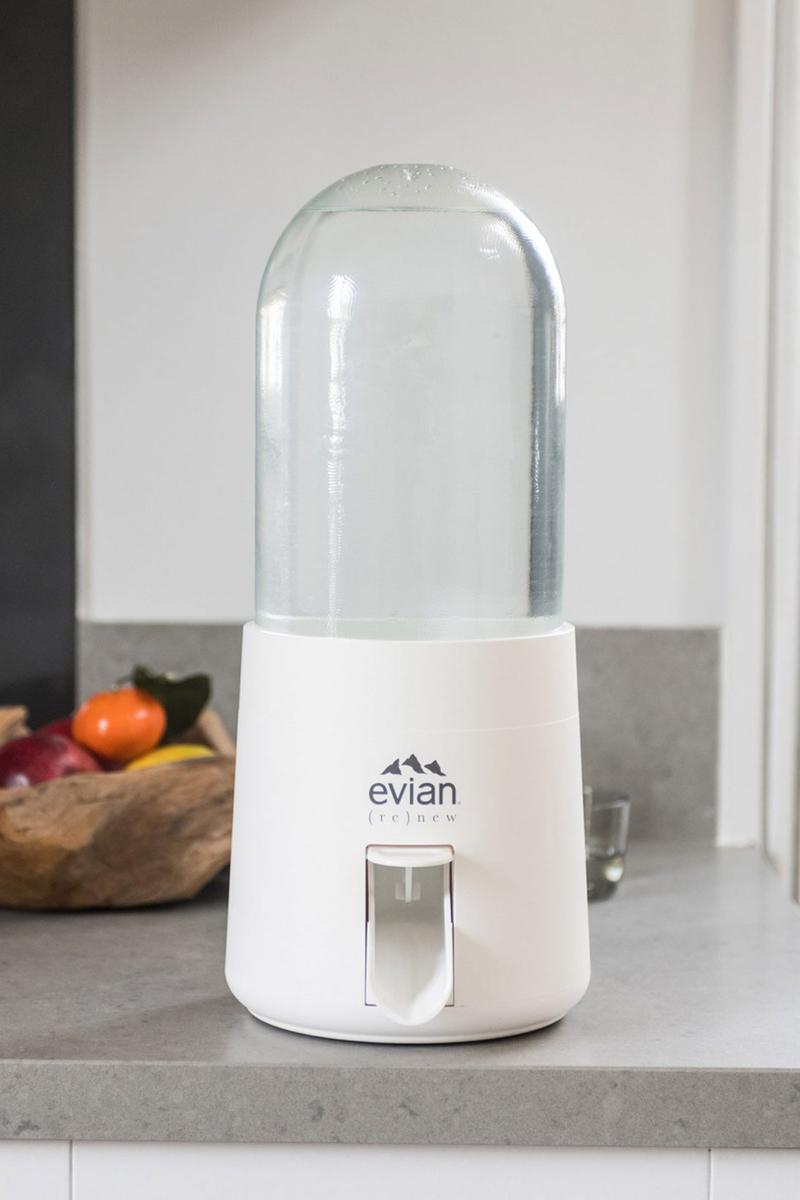 fontaine à eau Evian (re)new